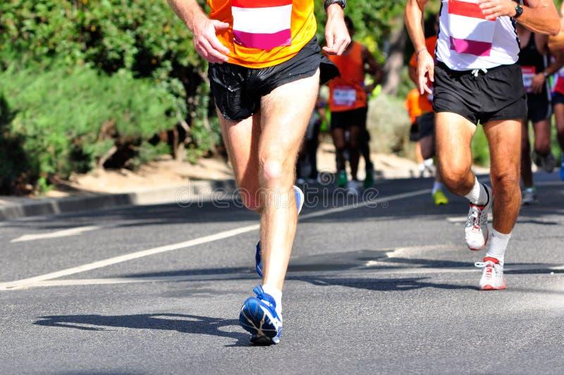 De Raceauto's van de marathon royalty-vrije stock foto