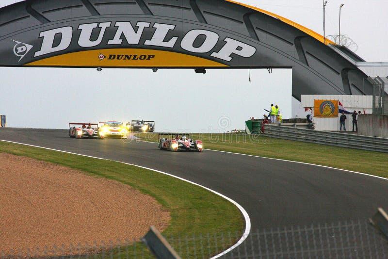 De Raceauto's van Le Mans royalty-vrije stock afbeelding