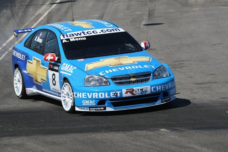 De raceauto van Chevrolet stock foto