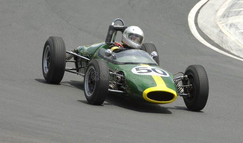 De Raceauto van de amulet stock afbeelding