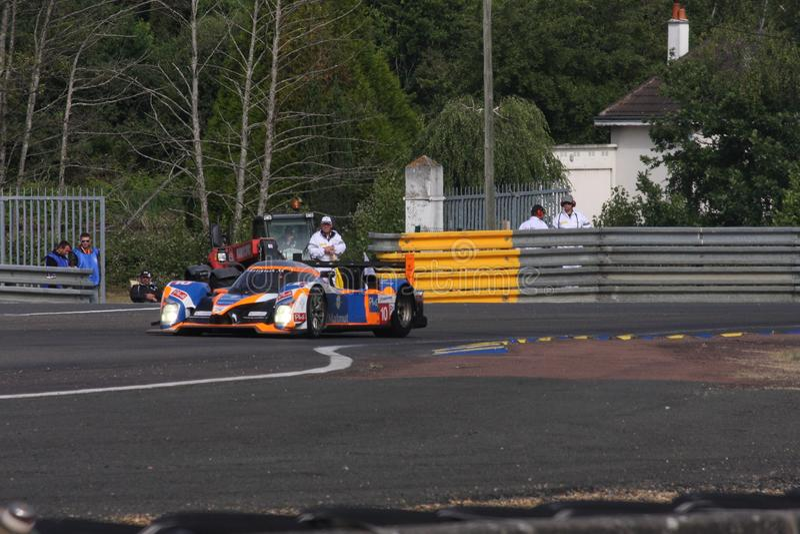 De Raceauto van Le Mans stock fotografie