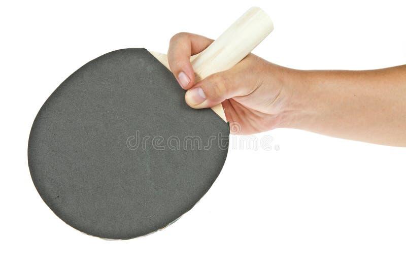 De racket van het pingpong royalty-vrije stock afbeelding