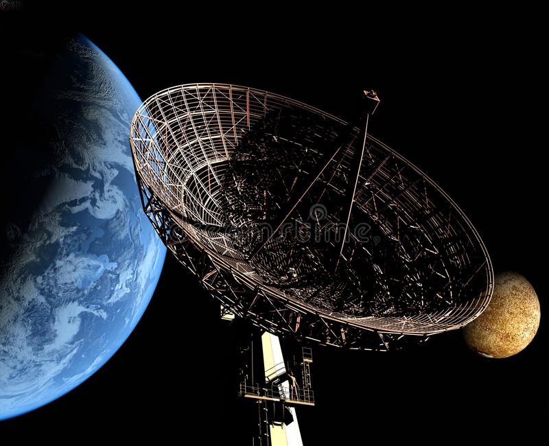 De radar vector illustratie