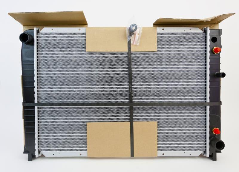 De Radiator van de vervangingsauto stock afbeelding