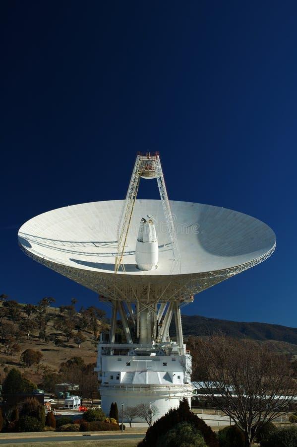 De radio Schotel van de Antenne stock afbeelding