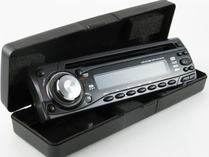 De radio van de auto met CD. royalty-vrije stock foto's