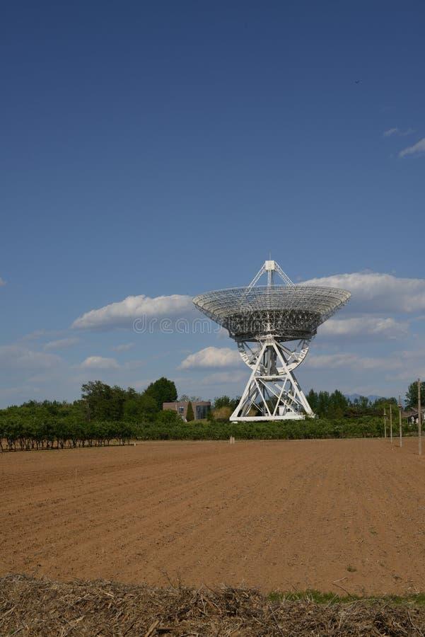 De radiotelescoop van Lovell stock foto