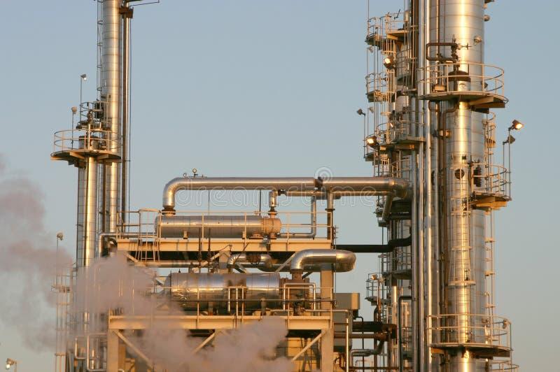 De Raffinaderij van de olie #3 royalty-vrije stock foto's