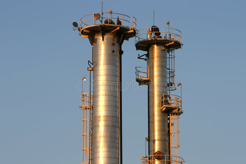 De Raffinaderij van de olie #6 royalty-vrije stock afbeelding