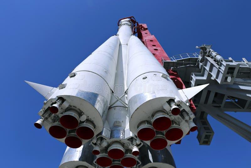 De raket Vostok royalty-vrije stock foto's