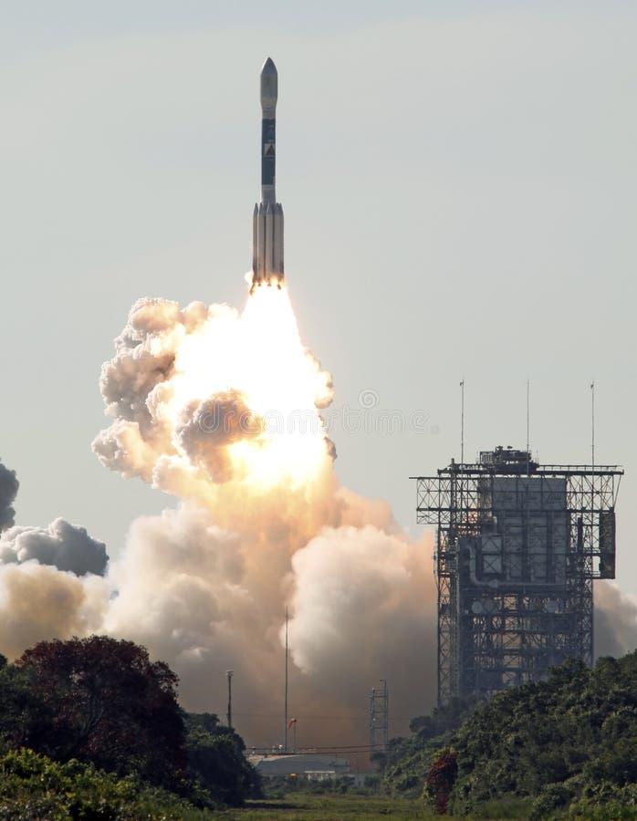 De raketlancering van Deelta stock foto