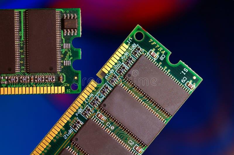 De Ram van de computer stock foto