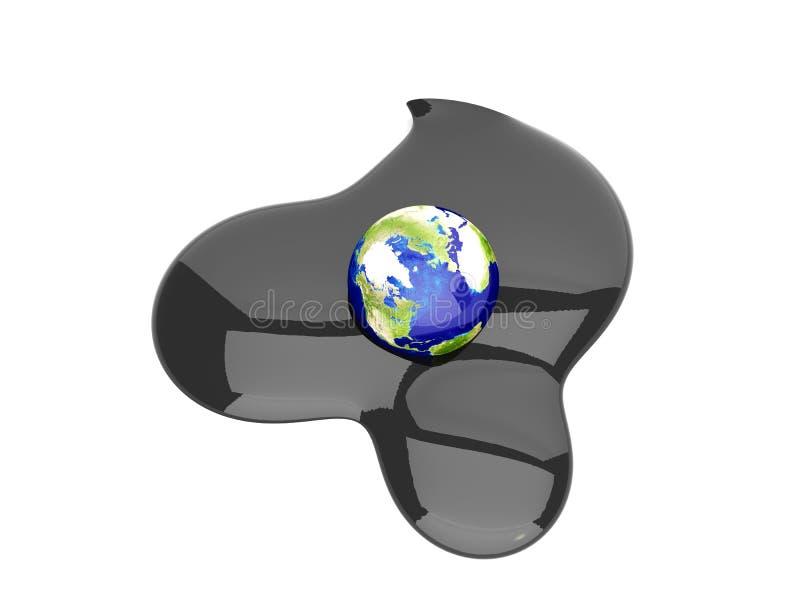 De ramp van de olie vector illustratie