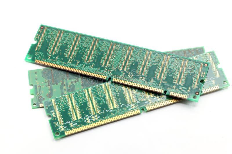 De ramsGeheugen van de computer stock afbeelding