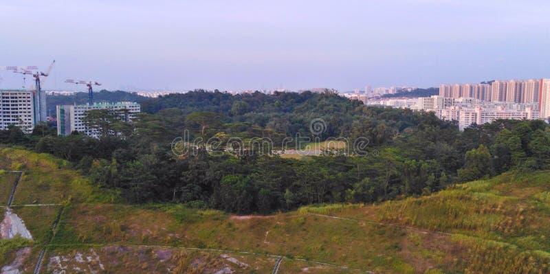 De rand van Bukitbatok stock foto