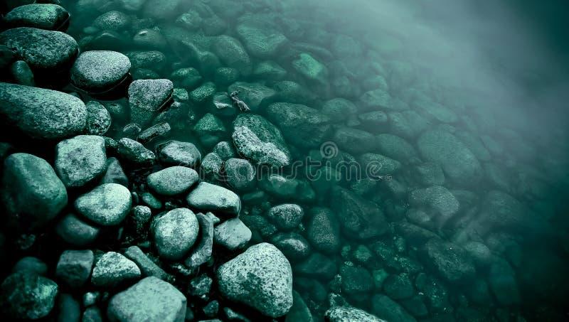 De rand van de rivier royalty-vrije stock afbeeldingen