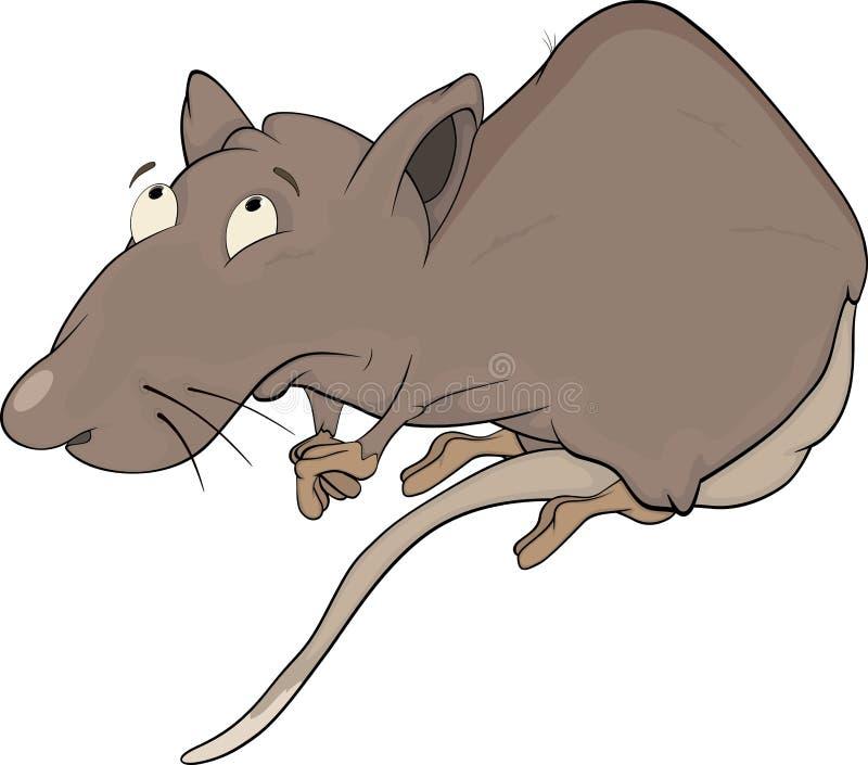 De rat van het huis royalty-vrije illustratie