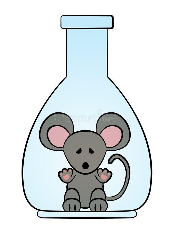 De rat van het laboratorium vector illustratie
