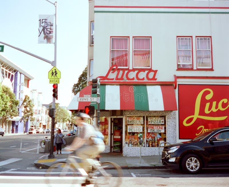 De Ravioli San Francisco van Luca royalty-vrije stock afbeeldingen