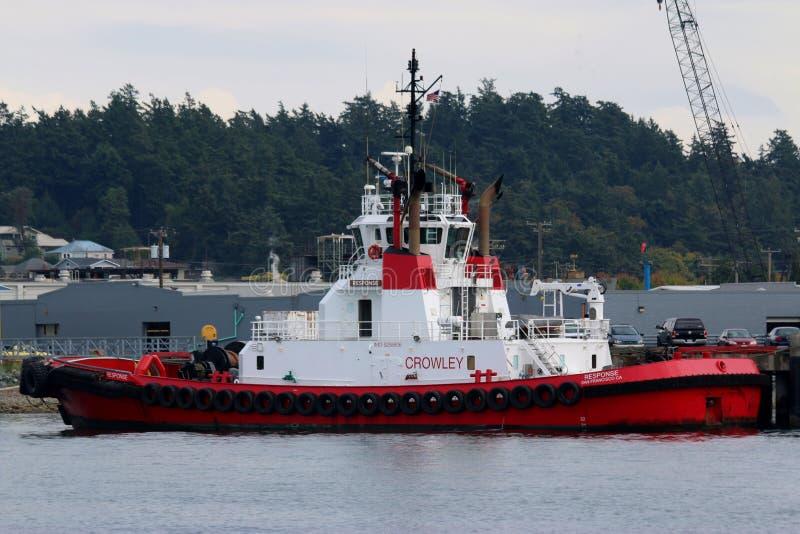 De Reactie ` van de Crowleysleepboot ` royalty-vrije stock foto