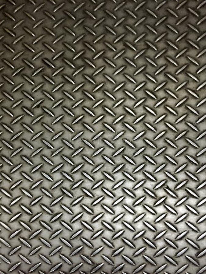 De realistische vloer van de metaalplaat royalty-vrije stock fotografie