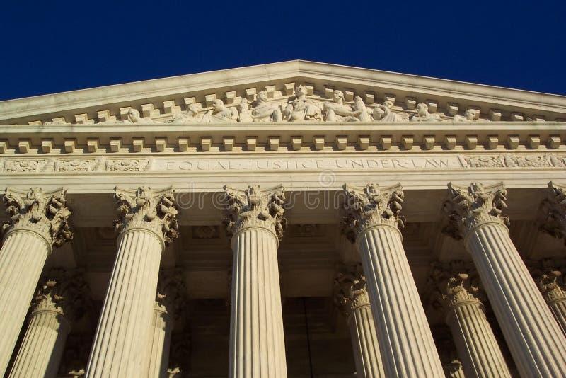De Rechtvaardigheid van het Hooggerechtshof royalty-vrije stock afbeelding