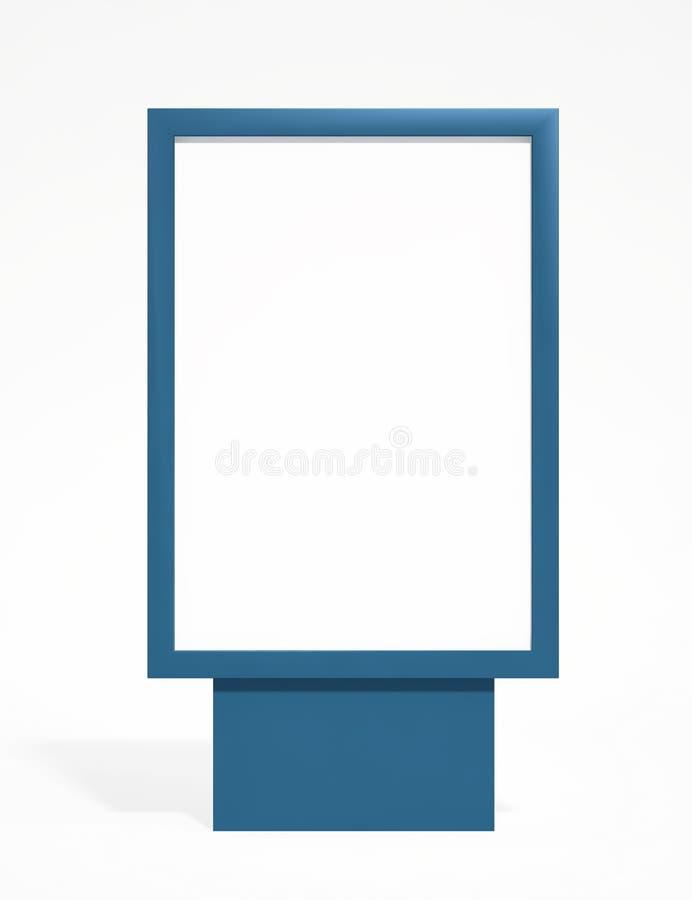 De reclameaanplakbord van de straat vector illustratie