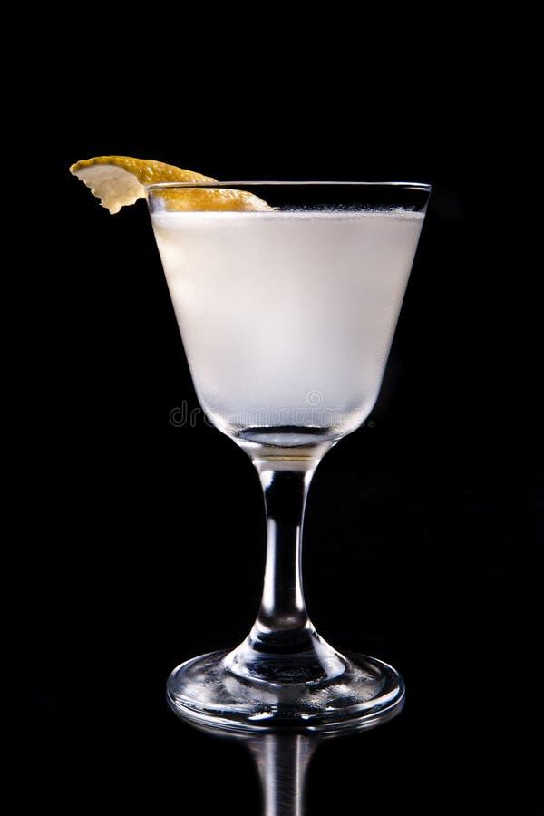 De recreatieve cocktail van de citroenzomer stock fotografie