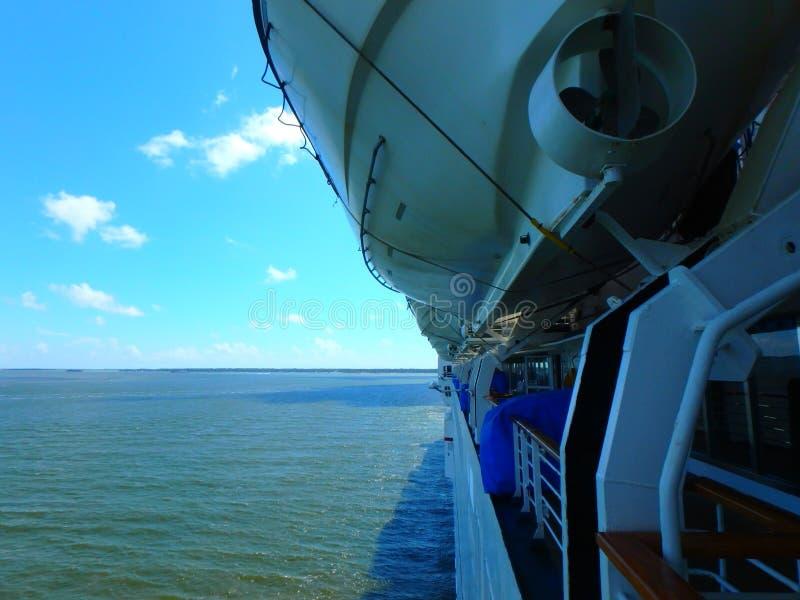 De Reddingsboten van het cruiseschip royalty-vrije stock fotografie