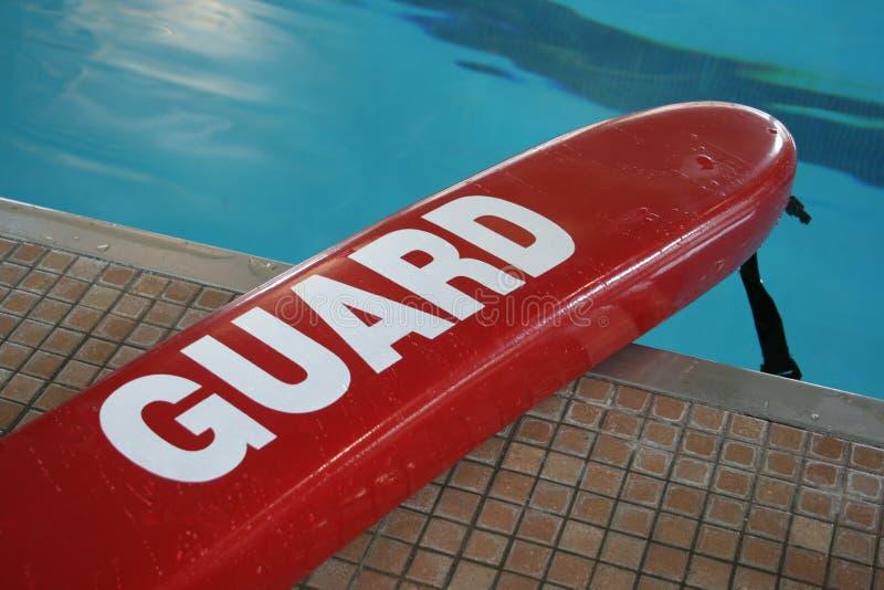 De reddingsvlotter van de pool royalty-vrije stock foto