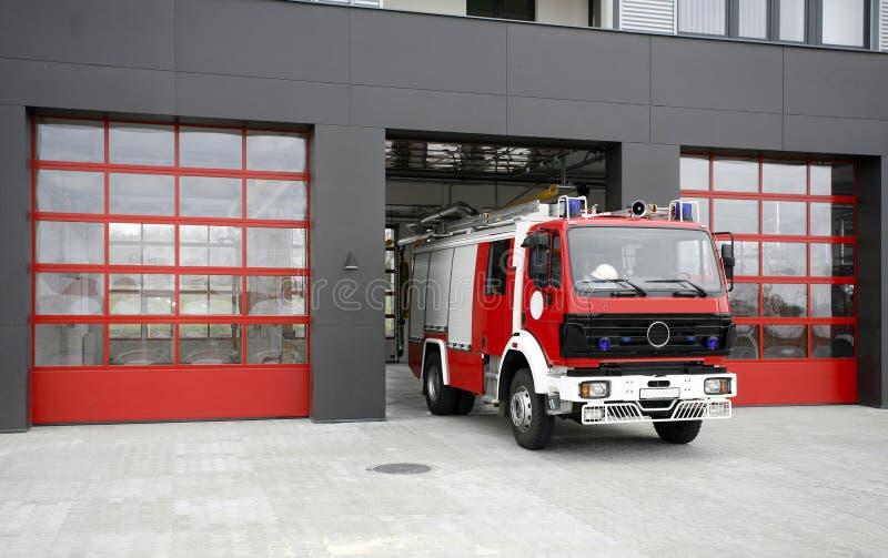 De reddingsvrachtwagen van de noodsituatiebrand royalty-vrije stock foto