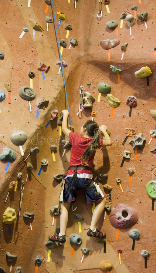 De Reeks A 22 van de Bergbeklimming stock fotografie