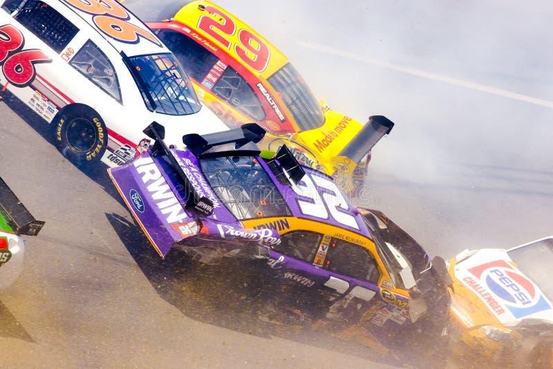 De Reeks Aarons 499 26 van de Kop van de Sprint NASCAR April royalty-vrije stock foto