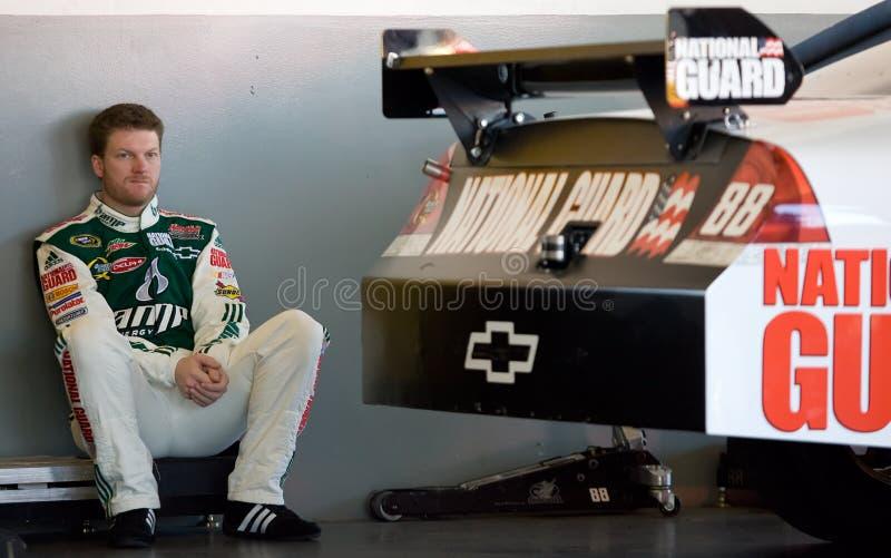 De Reeks Daytona 500 van de Kop van de Sprint van Jr. van Dale Earnhardt stock foto