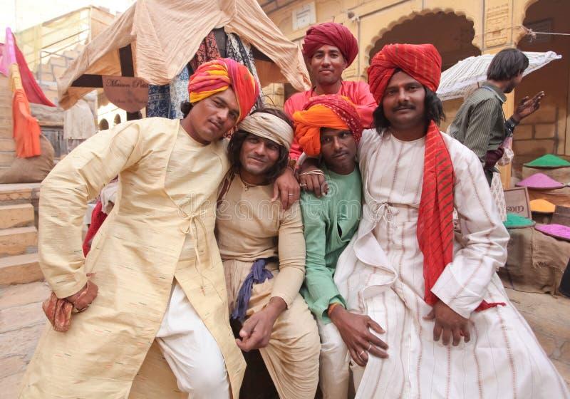 De reeks van Bollywood royalty-vrije stock afbeeldingen