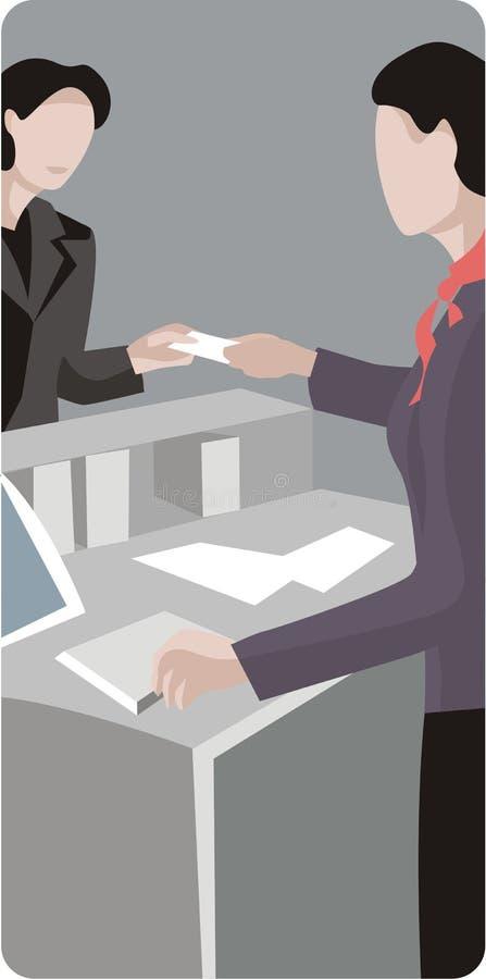 De Reeks van de Illustratie van het beroep royalty-vrije illustratie