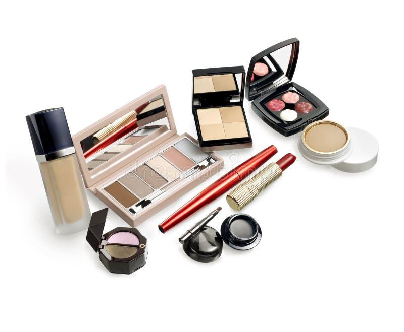 De Reeks van de make-up royalty-vrije stock afbeeldingen