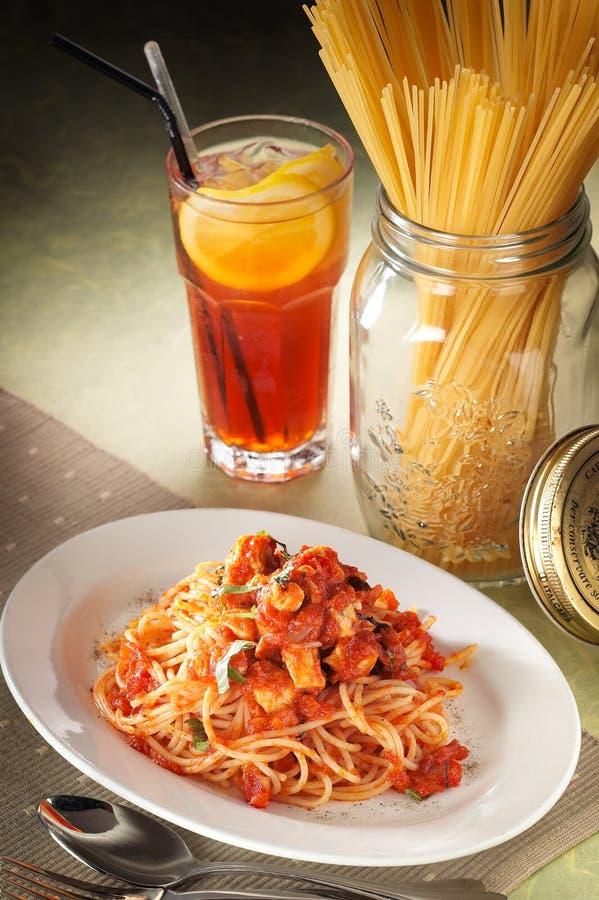 De Reeks van de spaghetti royalty-vrije stock foto
