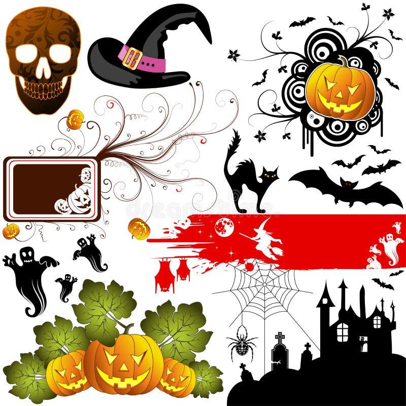 De reeks van Halloween