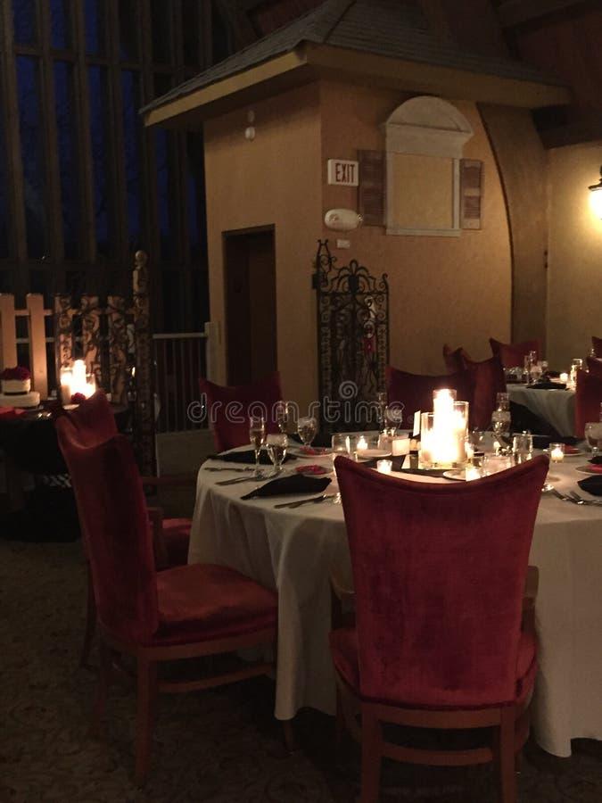 De reeks van het diner royalty-vrije stock foto