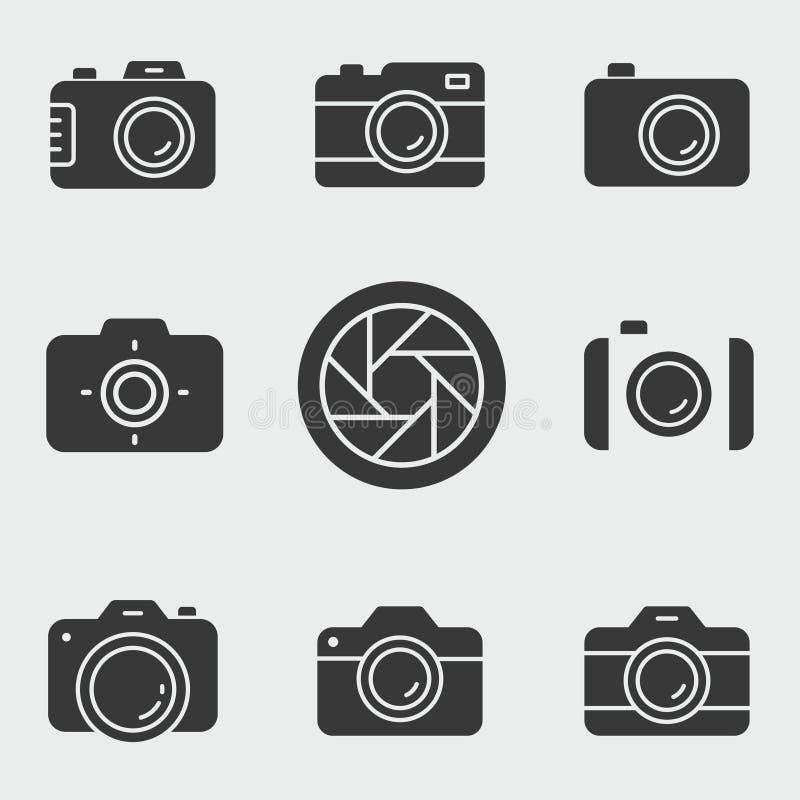 De reeks van het fotopictogram Illustraties op wit worden geïsoleerd dat royalty-vrije illustratie
