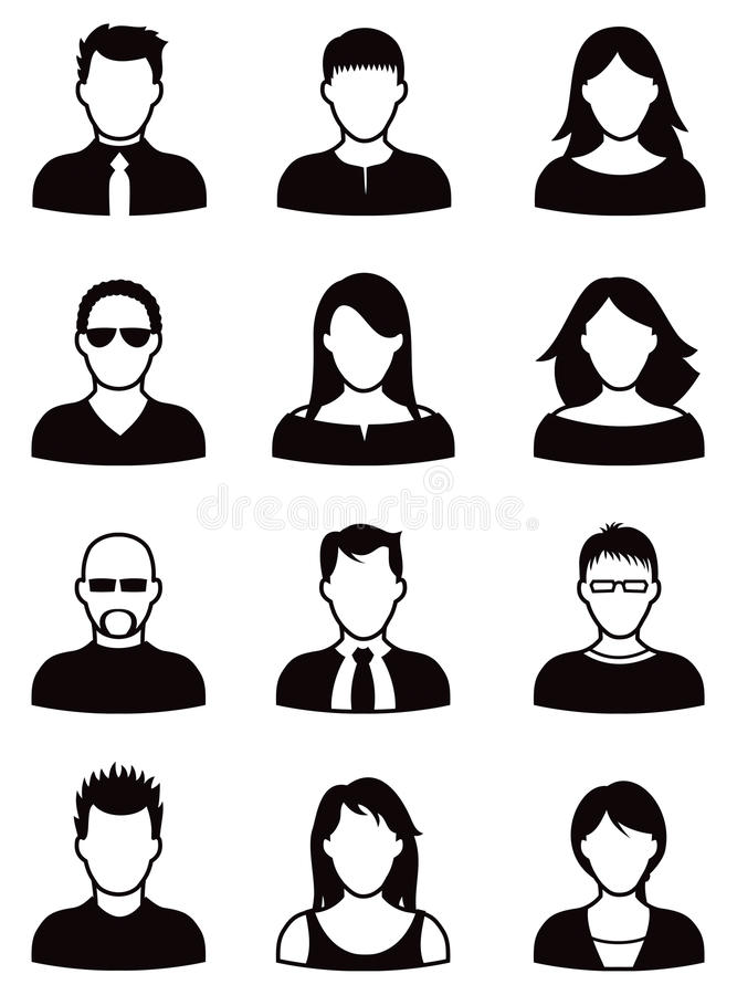 De Reeks van het mensenpictogram