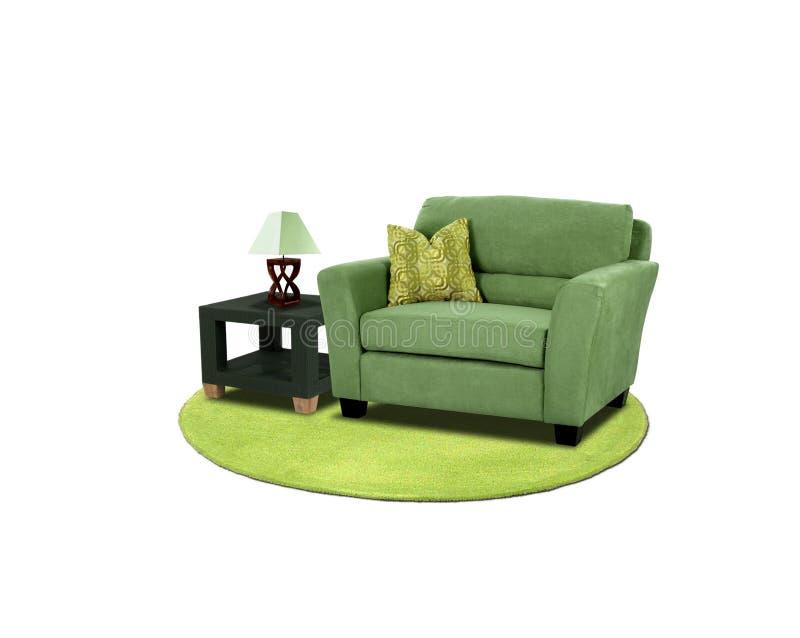 De reeks van het meubilair stock foto