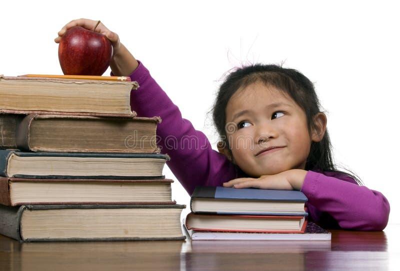 De Reeks van het onderwijs (oude boeken nieuwe boeken) stock afbeelding