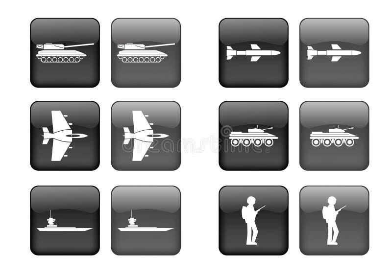 De reeks van het pictogram royalty-vrije illustratie