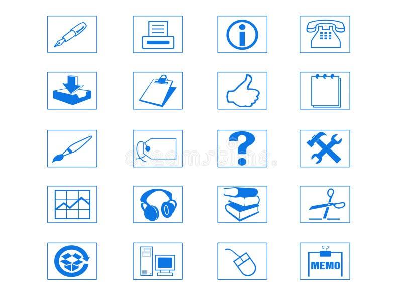 De Reeks van het pictogram vector illustratie