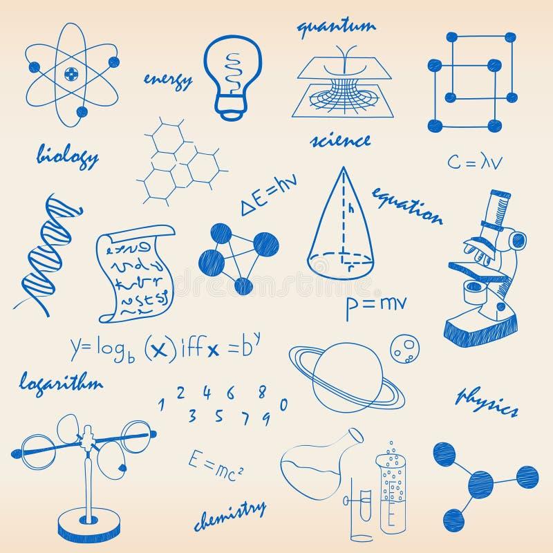 De Reeks van het Pictogram van de wetenschap