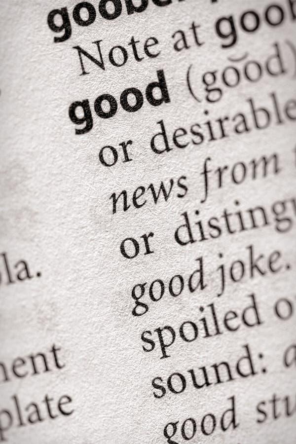 Woordenboekreeks - Filosofie: goed