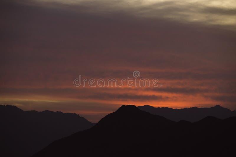 De reeks van de zon royalty-vrije stock foto