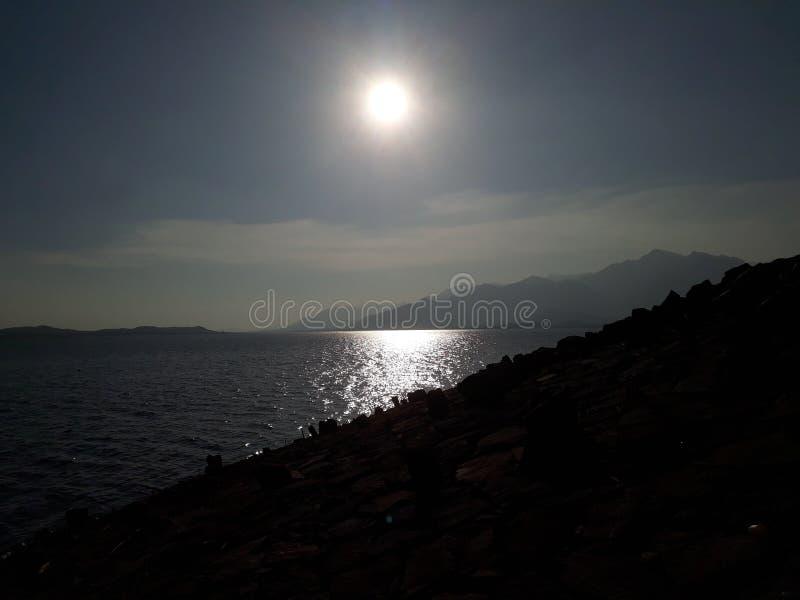 De reeks van de zon stock afbeeldingen